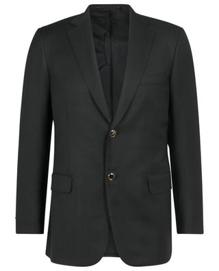 Blazer in virgin wool with single-breasted button fastening BRIONI