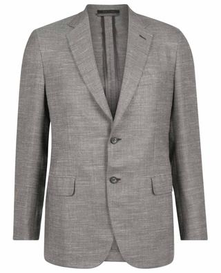 Plume lightweight tweed suit jacket BRIONI