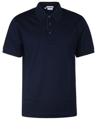 Kurzärmeliges Poloshirt aus Baumwoll-Piqué BRIONI