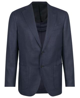 Boheme textured wool, silk and linen blazer CARUSO