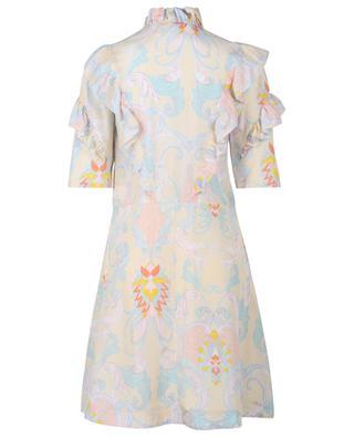 Robe courte en soie imprimée Cachemire Baroque SEE BY CHLOE