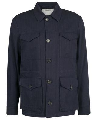 Field Jacket linen and cotton parka VALSTAR MILANO 1911