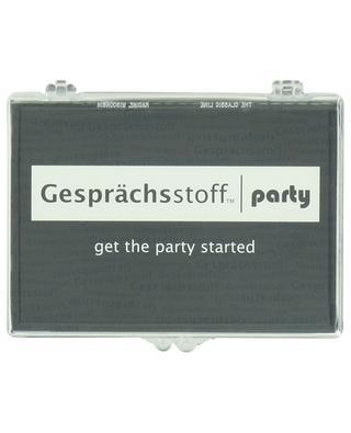 Partyspiel Gesprächsstoff Party KYLSKAPSPOESI