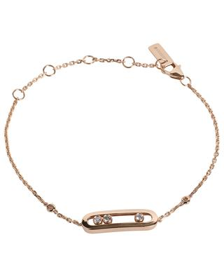 Baby Move pink gold and diamond bracelet MESSIKA