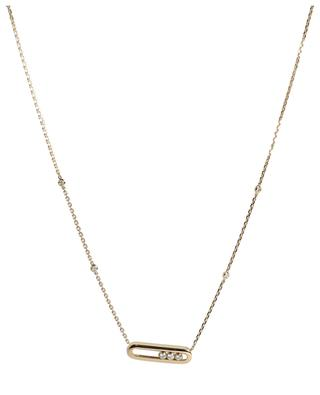 Baby Move yellow gold and diamond necklace MESSIKA