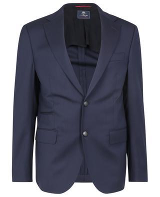 Blazer en serge à boutonnage simple Travel Jacket FAY