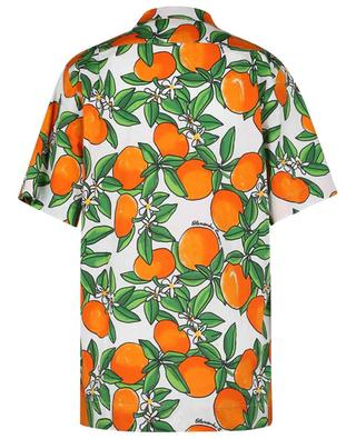 Tangerine printed short-sleeve shirt ALESSANDRO ENRIQUEZ