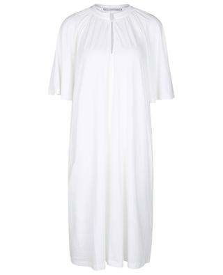 Cecile cotton and modal blend nightshirt with  pocket SUNDAY IN BED
