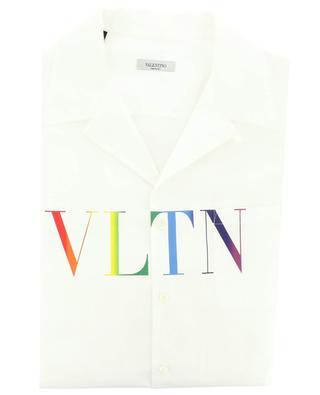Chemise à manches courtes imprimée VLTN Multicolor VALENTINO