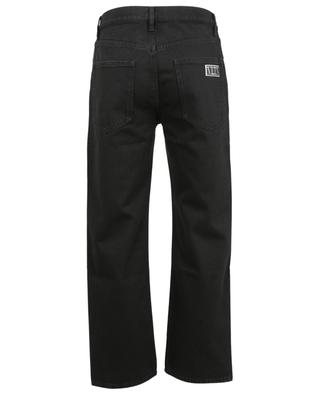 VLTN Tag relaxed black jeans VALENTINO