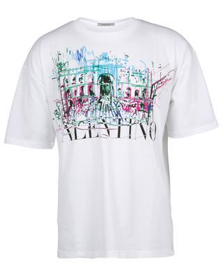 Lässiges T-Shirt mit Print Trevi Roman Sketches VALENTINO
