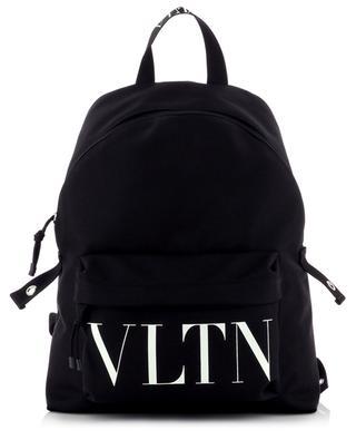 VLTN printed nylon backpack VALENTINO