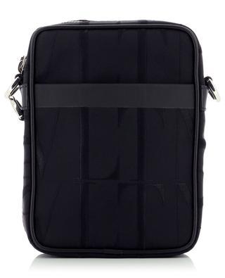 VLTN nylon jacquard crossbody bag VALENTINO