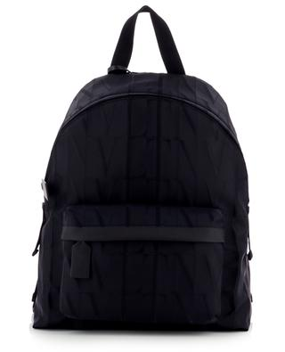 VLTN Times nylon jacquard backpack VALENTINO