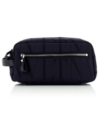 VLTN nylon jacquard toiletry bag VALENTINO