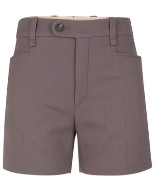 Shorts aus Wolle in Grain-de-Poudre-Textur CHLOE