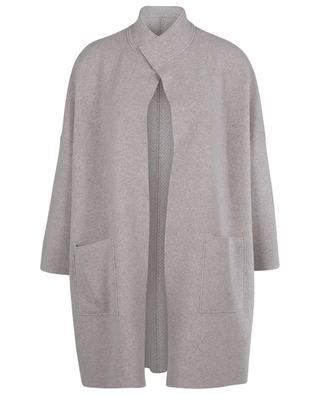 Manteau oversize réversible double-face en cachemire LUNARIA CASHMERE
