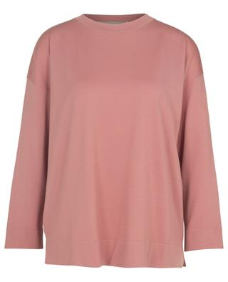 Large long sleeved top in wool LUNARIA CASHMERE