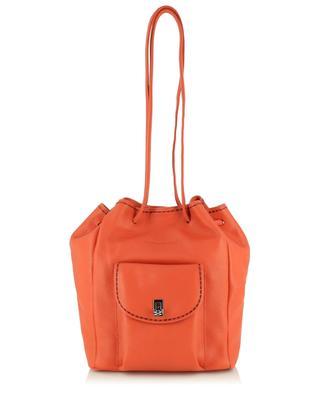 Clea 21124 California grained leather backpack PLINIO VISONA'
