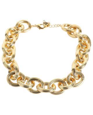 G3 chunky golden necklace POGGI