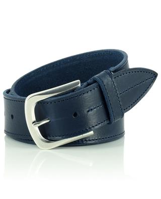 Grained leather belt ANDREA D'AMICO