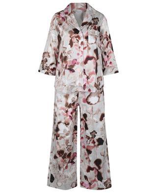 Pyjama fleuri en coton Cotton Sateen Print ZIMMERLI