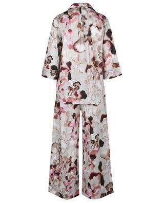 Pyjama aus Baumwolle mit floralem Print Cotton Sateen Print ZIMMERLI