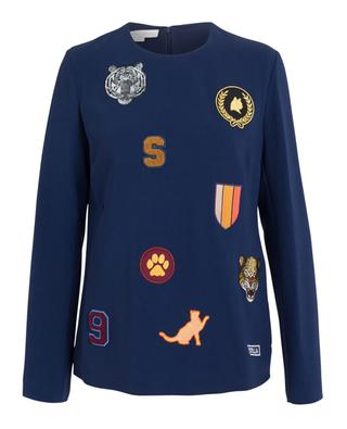 Long sleeves top with patches STELLA MCCARTNEY