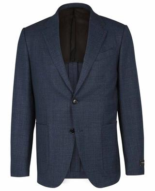 Blazer à boutonnage simple en laine Easy Light ERMENEGILDO ZEGNA