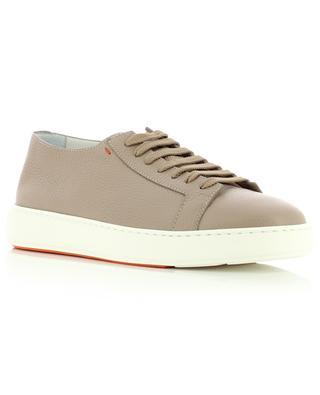 Full grained leather sneakers SANTONI