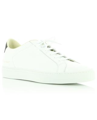 Retro Low white low-top leather sneakers with contrasting detail COMMON PROJECTS