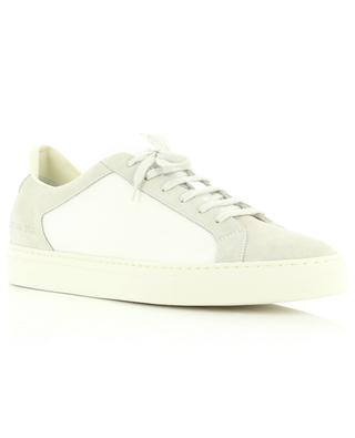 Retro Summer Edition fabric and suede low-top sneakers COMMON PROJECTS