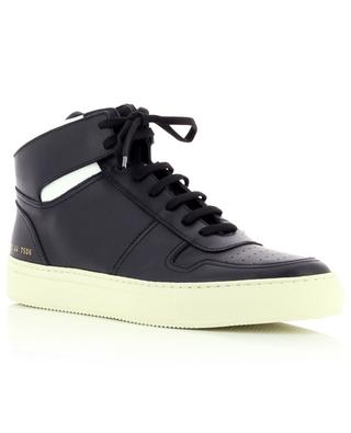 BBall High smooth leather high-rise sneakers with contrasting details COMMON PROJECTS