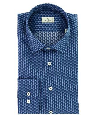 Paisley detail printed cotton shirt ETRO