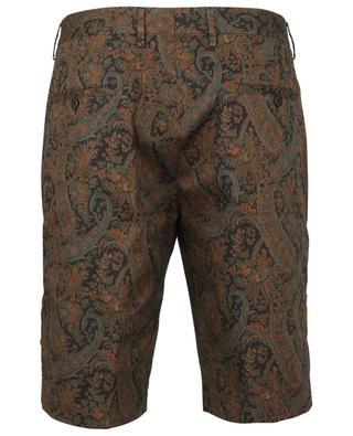 Comfort Fit-Bermudashorts mit buntem Paisley-Print ETRO