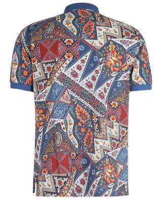 Polo à manches courtes imprimé patchwork oriental ETRO