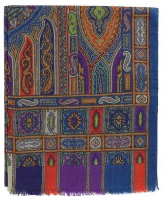 Schal aus Wolle und Seide mit Teppich-Print Delhy ETRO