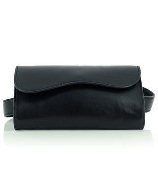Sac ceinture en cuir noir N.D.V PROJECT