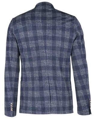 Blazer à boutonnage double en jersey à carreaux CIRCOLO 1901
