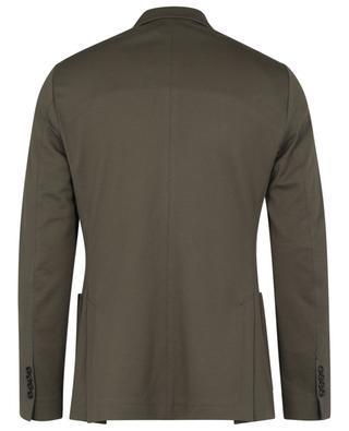 Single-breasted cotton piqué blazer CIRCOLO 1901