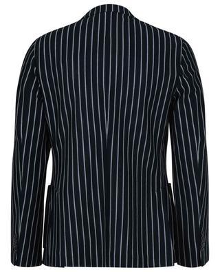 Striped cotton piqué blazer CIRCOLO 1901