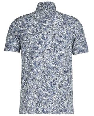 Paisley printed short-sleeved polo shirt CIRCOLO 1901