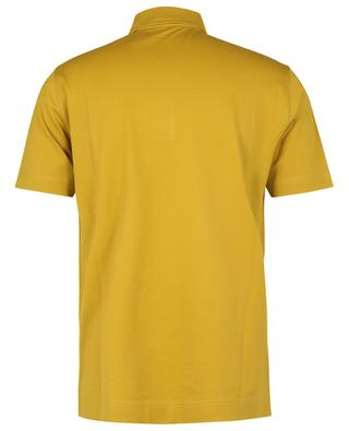 Kurzärmeliges Slim-Fit-Poloshirt aus Stretch-Baumwoll-Piqué CIRCOLO 1901