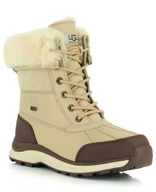 Adirondack III lined waterproof leather ankle boots UGG