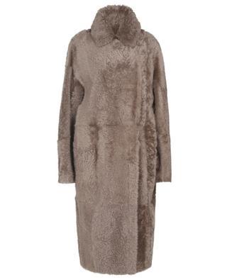 Reversible lamb skin coat WINDSOR