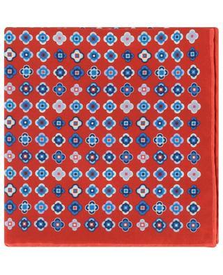Pochette en sergé de soie imprimé Print ROSI COLLECTION