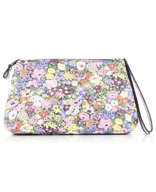 Thorpness floral canvas clutch LIBERTY LONDON