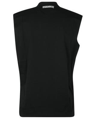 Ärmelloses T-Shirt mit Print IBRAMOVIĆ ICON Cool Fit DSQUARED2