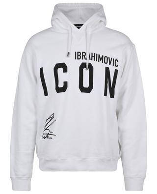 Sweat-shirt à capuche imprimé IBRAMOVIĆ ICON Cool Fit DSQUARED2