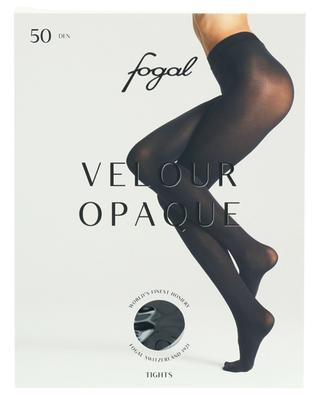 Velvety opaque tights FOGAL